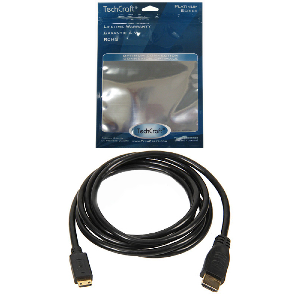 PLATINUM 10 ft. HDMI to Mini-HDMI 1.3c Cable
