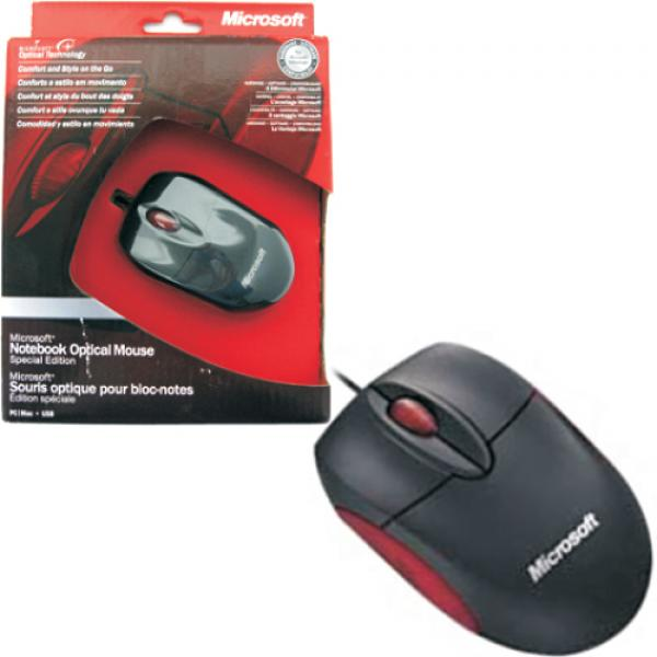 M M20 00012 Microsoft Notebook Optical Mouse Special