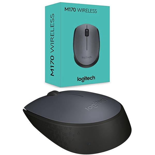 0278142b360 MN-910-004425: Logitech M170 Wireless Mouse - Nano USB - Grey