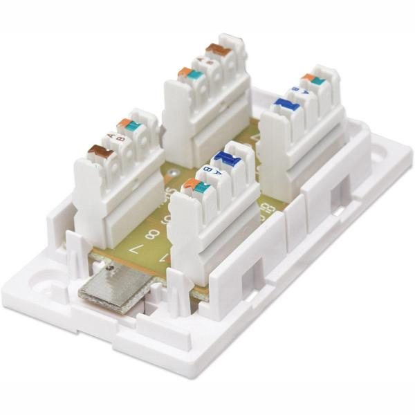 Zjb C6pd Cat6 Punch Down Type Junction Box