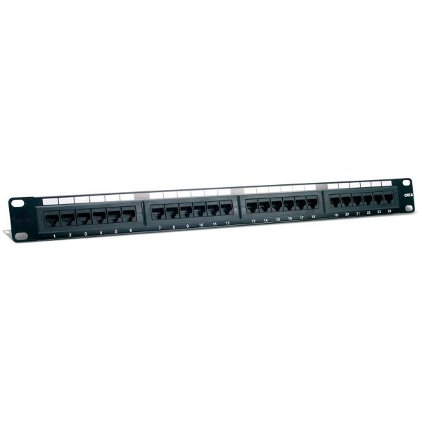 ZPP24 CAT6 zpp24 cat6 24 port (1u) patch panel cat6 110 t568a or t568b t568b patch panel wiring diagram at gsmx.co