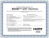 Certified HDMI products