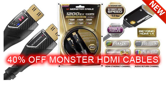 Monster HDMI Cables