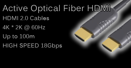 HDMI 2.0 Active Optical Fiber Cables
